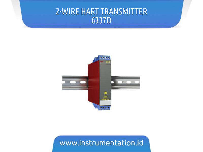 2-wire HART Transmitter 6337D
