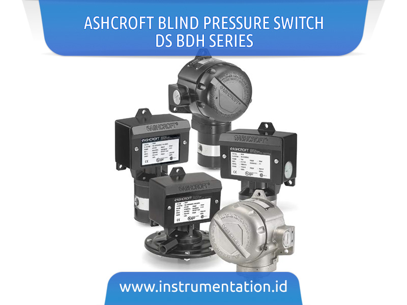 Ashcroft Blind Pressure Switch DS BDH series