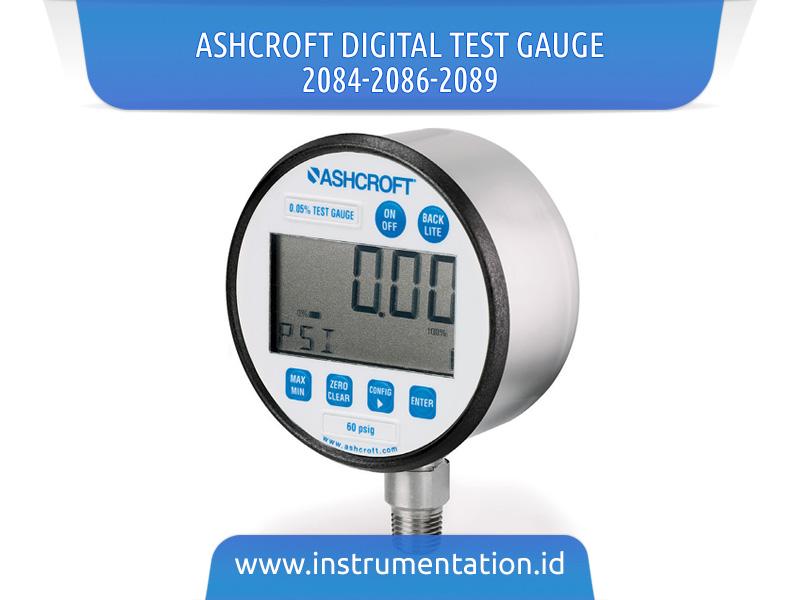 Ashcroft Digital Test Gauge 2084-2086-2089