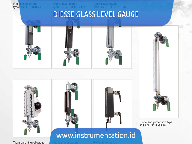 DIESSE Glass Level Gauge