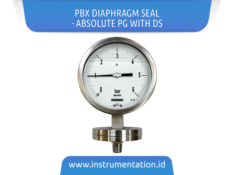 PBX Diaphragm Seal – absolute PG with DS