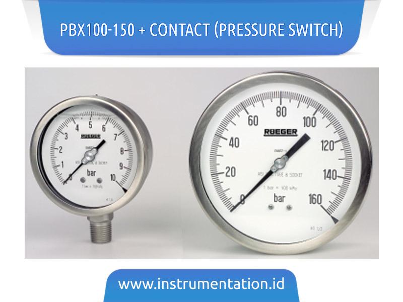 PBX100-150 + Contact (Pressure Switch)