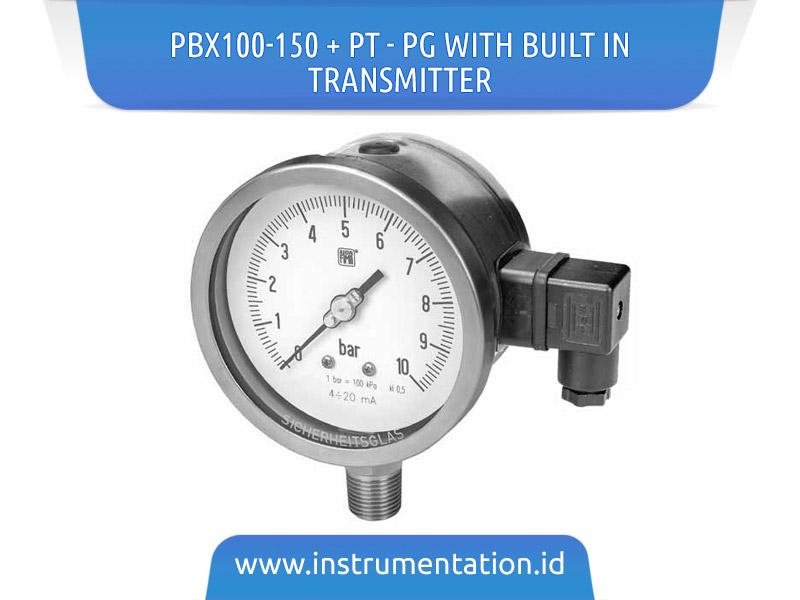 PBX100-150 + PT – PG with Built In Transmitter