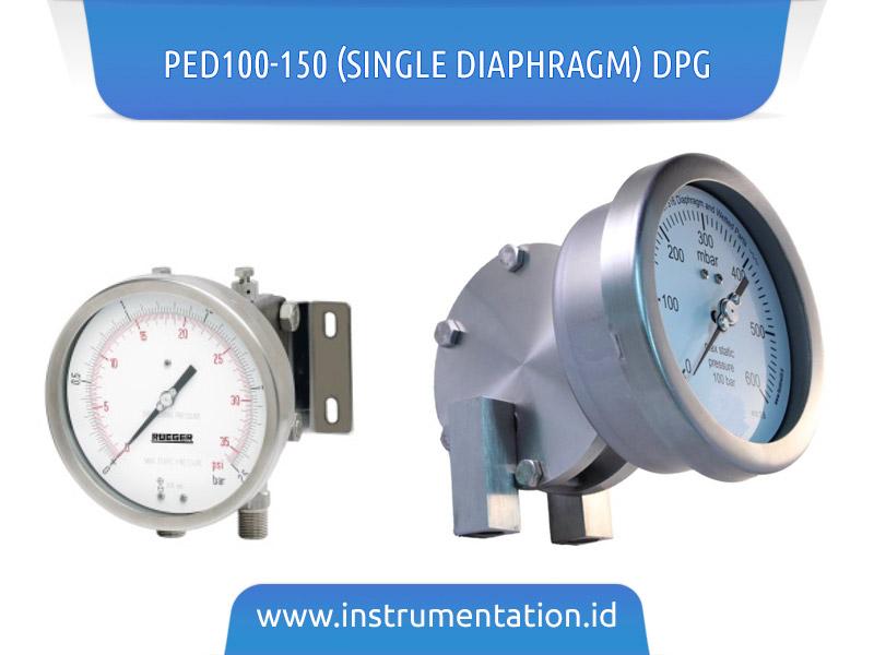 PED100-150 (Single Diaphragm) DPG