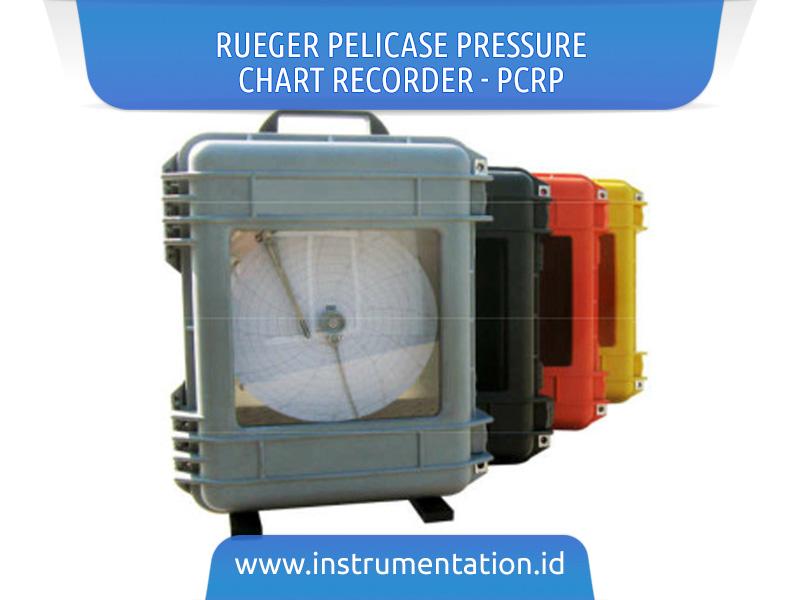 RUEGER Pelicase Pressure Chart Recorder - PCRP