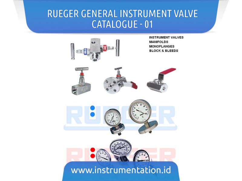 Rueger General Instrument Valve Catalogue