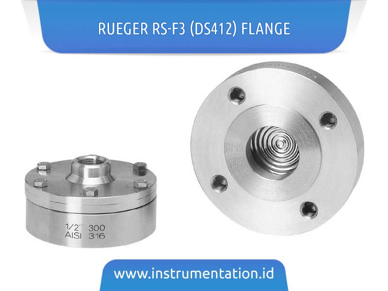 Rueger RS-F3 (DS412) Flange
