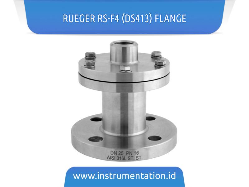 Rueger RS-F4 (DS413) Flange