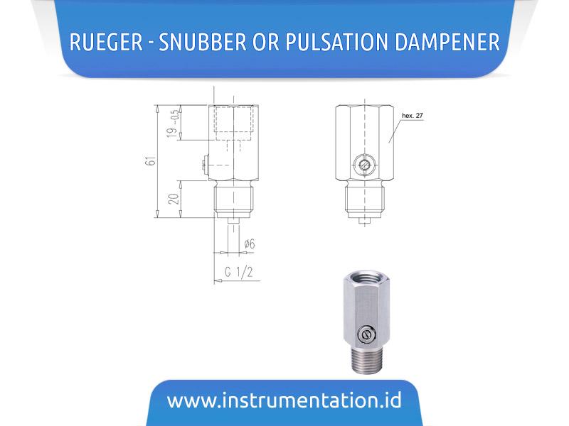 Rueger – Snubber or Pulsation Dampener