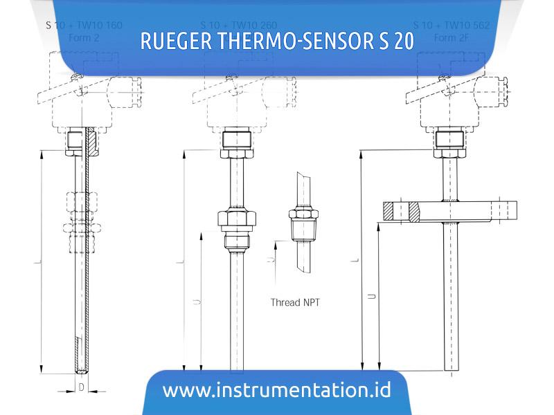Rueger Thermo-Sensor S 20