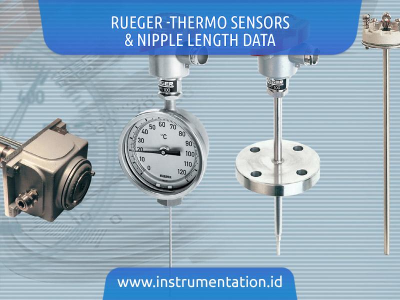 Rueger -Thermo Sensors & Nipple Length Data
