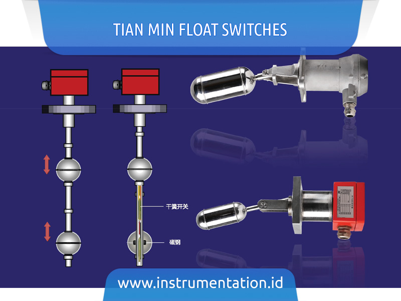TIAN MIN Float Switches